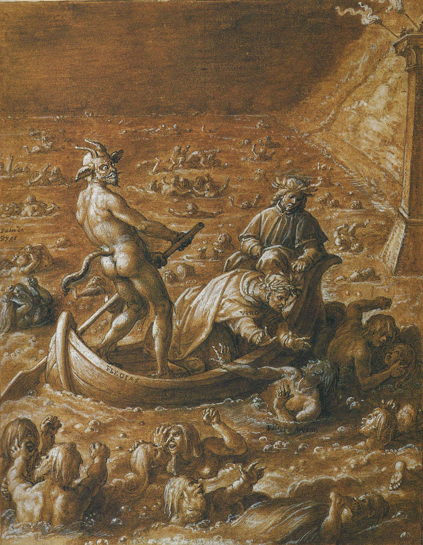 the depiction of hell in dantes inferno Dante's 'inferno', the first book of his 'divine comedy', details dante's journey through hell with virgil as his guide this lesson goes over and analyzes key quotes about hell.
