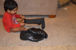 In His Papa's Shoes