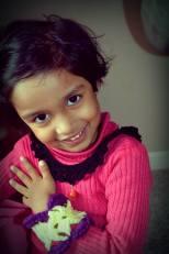 Tishu posing for Mamma