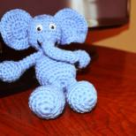 A Big Blue Elephant....