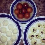 GulaabJamun, Coconut Barfi, Milk Peda