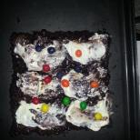 Chocolate n M&M Cake