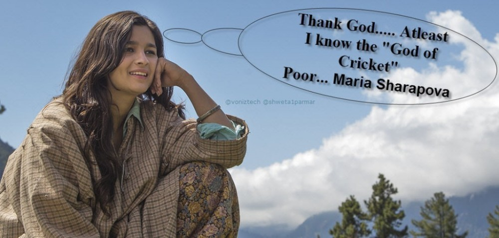 Frolic Friday - Sachin Tendulkar Knows You, Maria Sharapova (4/6)