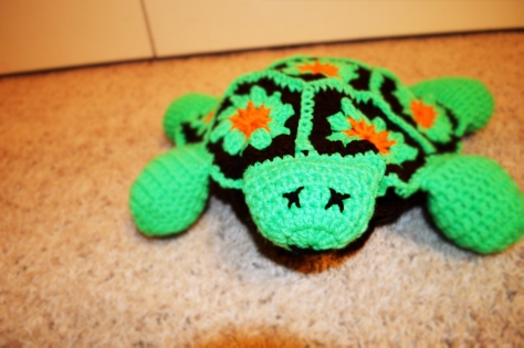 Crocheted Turtle Bag