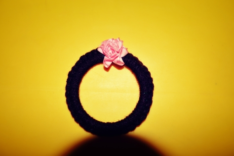 Crocheted Bangle