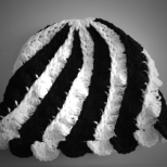 Black n White Cap