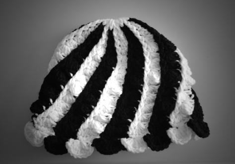 Black n White Cap