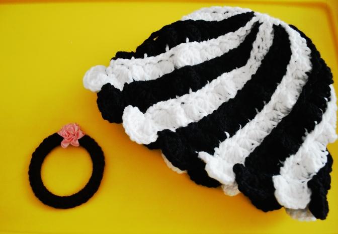 Thursday Treats – Black n White Cap