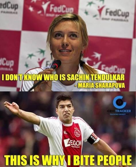 Sachin Knows Maria