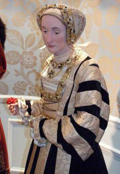 Anne of Cleves Wax statue