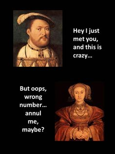 King Henry and Anne Of Cleves