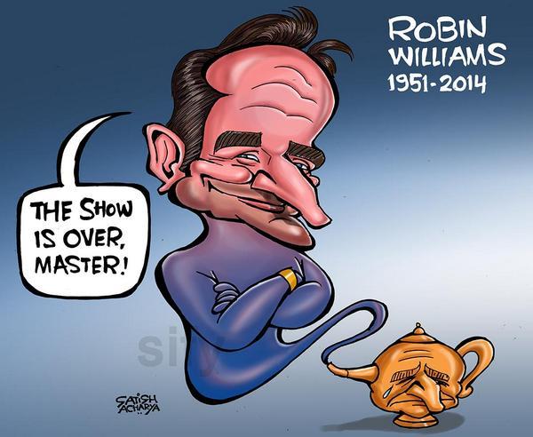 RIP Robin Williams - Genies don't die