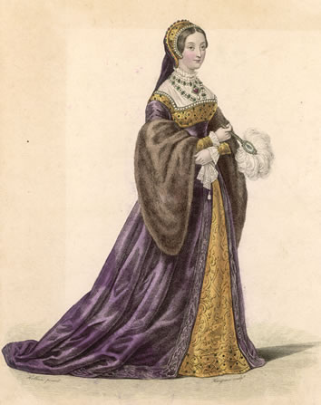 Catherine Howard - Fifth Queen Of King Henry