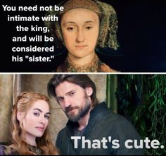 Sisterly Love - Anne of Cleves Vs Game Of Thrones