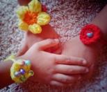 Crocheted Rakhi