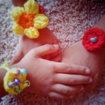 Crocheted Rakhi