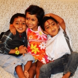 Tisha, Otu, and Renne.... Naughtiest and Cutest Kids