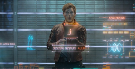Peter Quill in Guardians Of The Galaxy