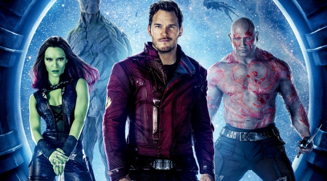 Our Superheroes in Guardians Of The Galaxy