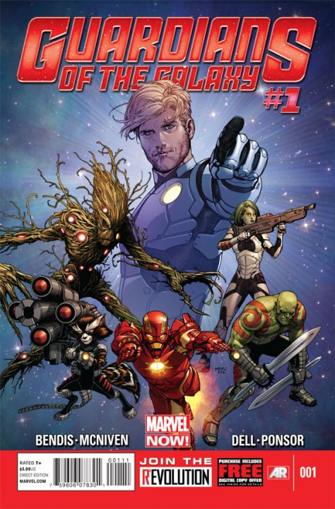 Comic Book - Guardians Of The Galaxy