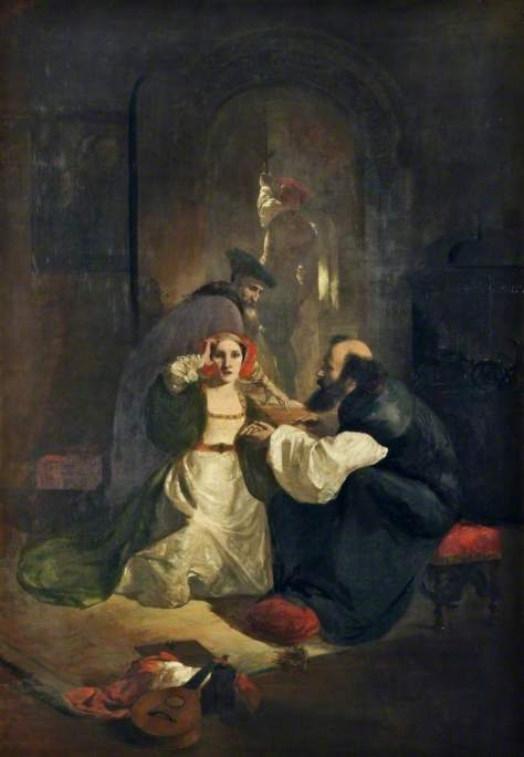 Catherine Howard under captivity