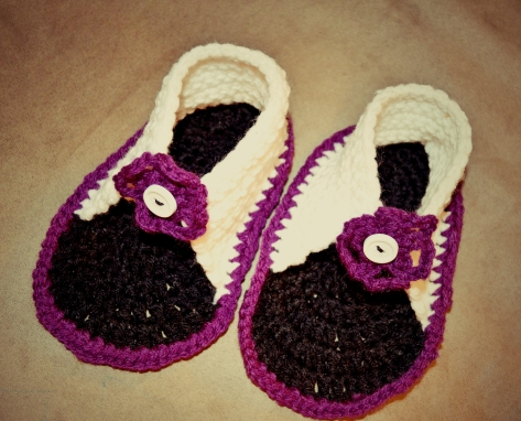 Crocheted Sandals