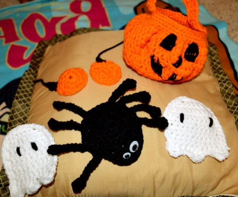Crocheted Halloween Decorations