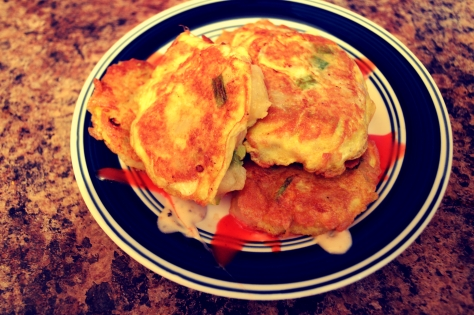 Egg and Potato Fritters by Jyoti Singh