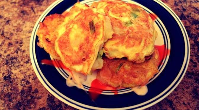 Mouthwatering Monday – Egg and Potato Fritters
