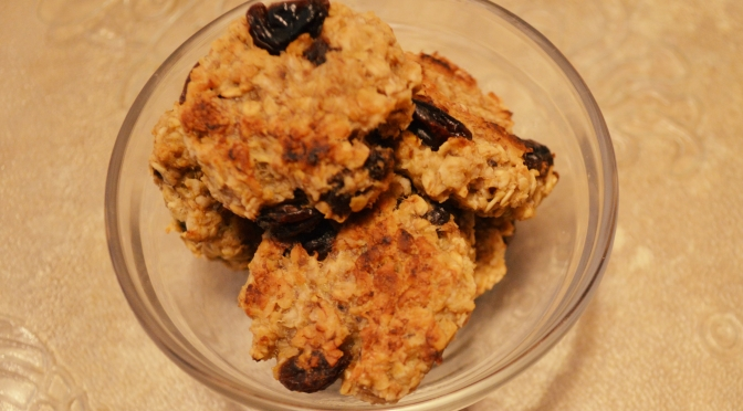 Mouthwatering Monday –  Banana Oatmeal Cookies