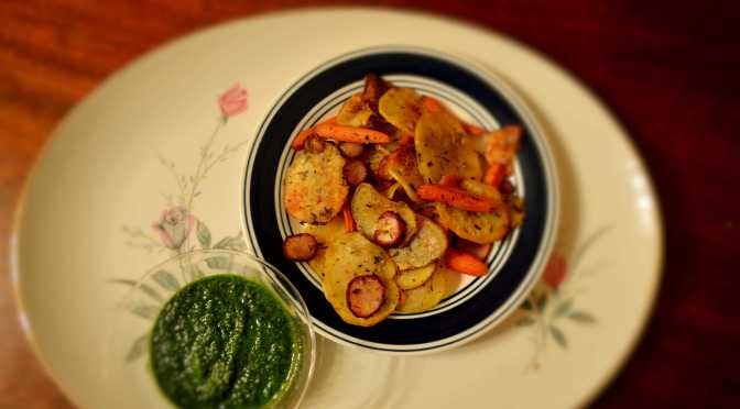 Mouthwatering Monday – Baked Veggie Chips