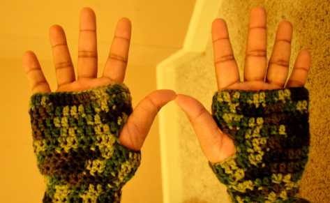 Fingerless Gloves by Jyoti Singh