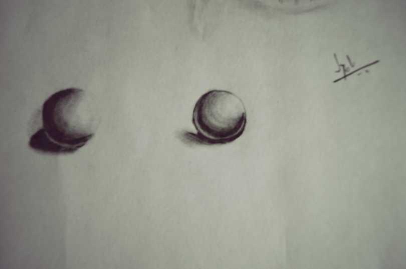 Ball shading by Jyoti Singh