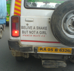 Snake are better than girl... Dude you got yourself wrong girl i guess :)