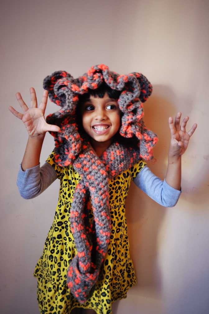 Crochet Lion Hoodie