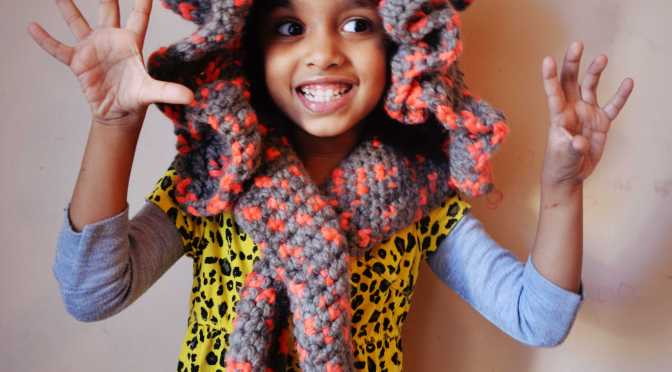 Thursday Treat – Crocheted Lion Hoodie