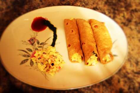 Simple Tortilla Rolls