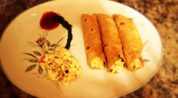Simple Tortilla Rolls