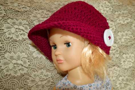 Crochet Peaked Hat by Jyoti Singh