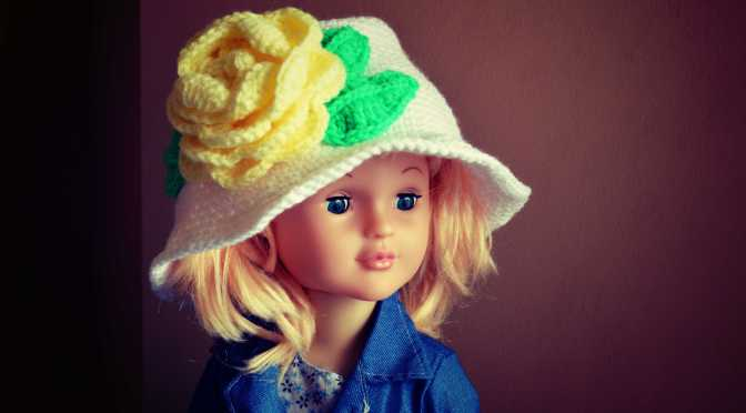 Flower Brim Hat