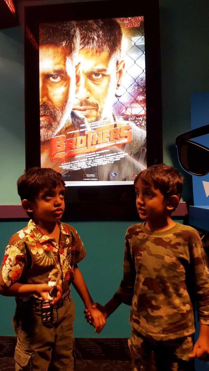 Brothers - Renne and Otu Singh