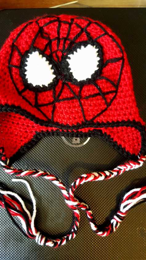 Crochet Spiderman Hat