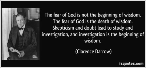 Do you Fear Your God?