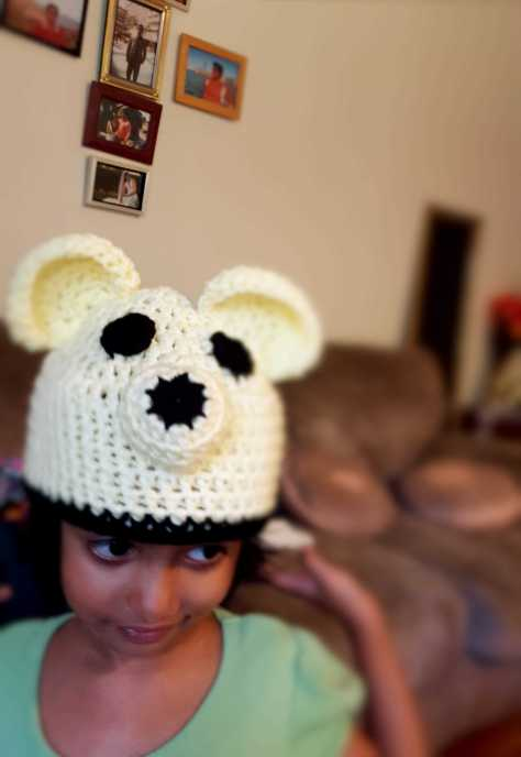 Crochet Puppy Cap