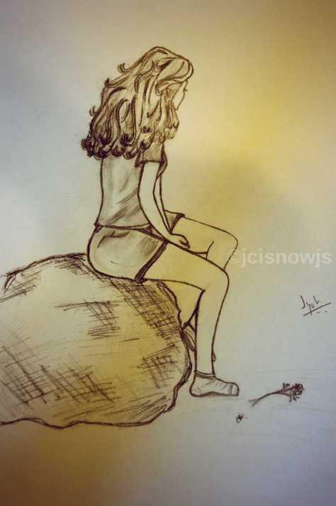 Betrayal - Sketch by Jyoti Singh