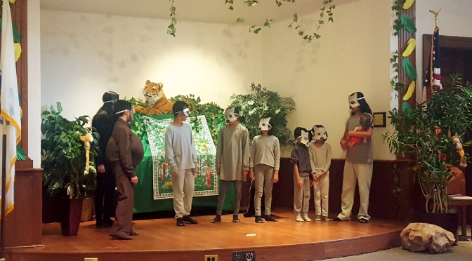 Jungle Book Play by Bal Vihar Students