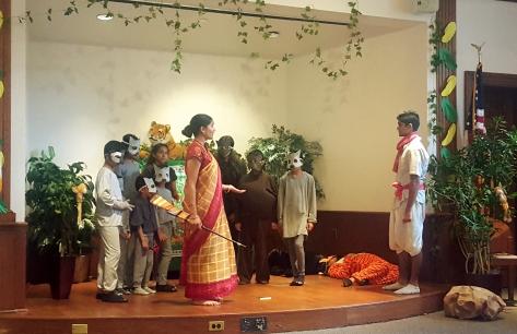 Jungle Book Play by Bal Vihar Students