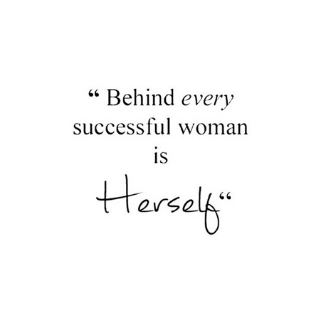 Behind Every Successful Wo(man)