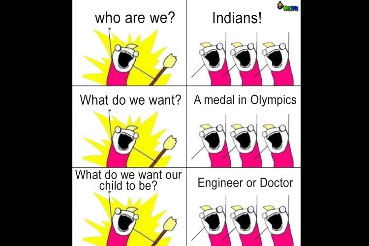 Why Olympic Medal is more a dream than a reality for India